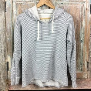 [O'Neill] Striped Hooded Sweater